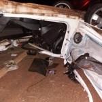 Acidente aconteceu na PR-559 (Foto: Divulgação via Umuarama News)