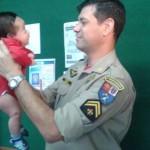Cabo Painso ajudou os pais pelo telefone (Foto: Célia Martinez/Rede Massa)